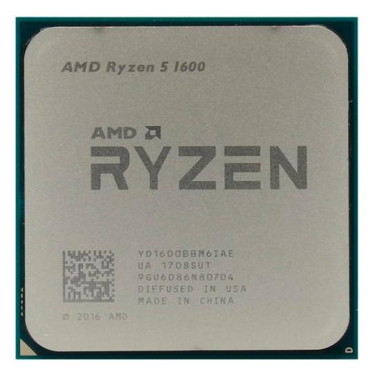 Процессор AMD Ryzen 5 1600 AM4 (YD1600BBM6IAF) (3.2GHz) OEM