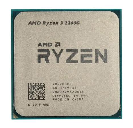 Процессор AMD Ryzen 3 2200G AM4 (YD2200C5FBBOX) (3.5GHz/Radeon Vega 8) Box