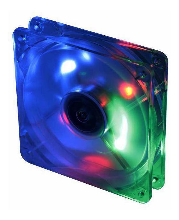 Вентилятор Titan TFD-12025GT12Z/LD1 120x120x25mm 3-pin 16dB 166gr LED Ret