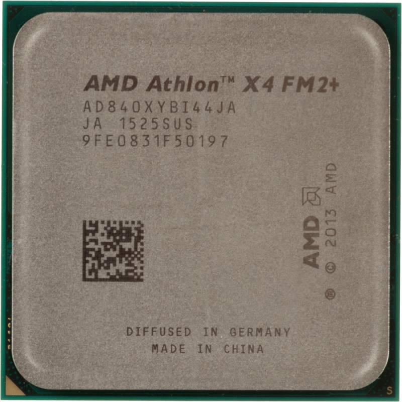 Процессор AMD Athlon II X4 840 FM2+ (AD840XYBI44JA) (3.1GHz/5000MHz) OEM