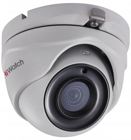 Камера видеонаблюдения Hikvision HiWatch DS-T503P 6-6мм HD-TVI цветная корп.:белый