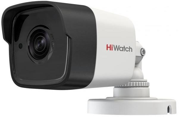 Камера видеонаблюдения Hikvision HiWatch DS-T500P(B) 3.6-3.6мм HD-TVI цветная корп.:белый