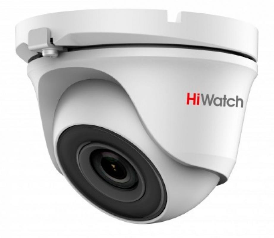 Камера видеонаблюдения Hikvision HiWatch DS-T123 3.6-3.6мм HD-TVI цветная корп.:белый