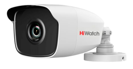 Камера видеонаблюдения Hikvision HiWatch DS-T110 2.8-2.8мм HD-TVI корп.:белый