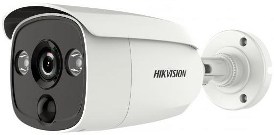 Камера видеонаблюдения Hikvision DS-2CE12D8T-PIRL 2.8-2.8мм HD-TVI цветная корп.:белый