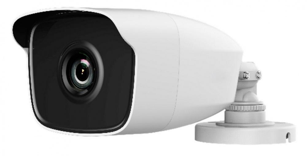 Камера видеонаблюдения Hikvision HiWatch DS-T120 2.8-2.8мм HD-TVI цветная корп.:белый