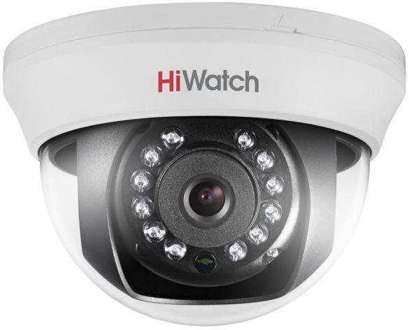 Камера видеонаблюдения Hikvision HiWatch DS-T201 2.8-2.8мм HD-TVI цветная корп.:белый