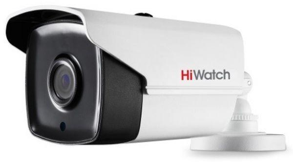 Камера видеонаблюдения Hikvision HiWatch DS-T220S (B) 6-6мм HD-CVI HD-TVI цветная корп.:белый