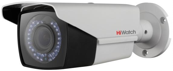 Камера видеонаблюдения Hikvision HiWatch DS-T206P 2.8-12мм HD-TVI цветная корп.:белый