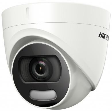 Камера видеонаблюдения Hikvision DS-2CE72DFT-F 3.6-3.6мм HD-TVI цветная корп.:белый