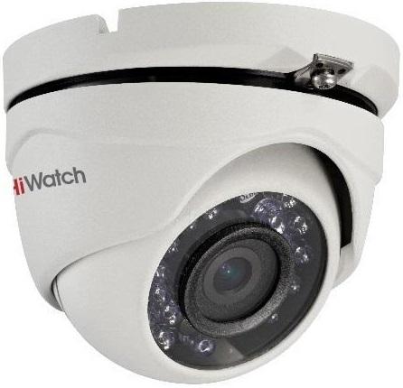 Камера видеонаблюдения Hikvision HiWatch DS-T103 3.6-3.6мм HD-TVI цветная корп.:белый