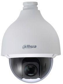 Видеокамера IP Dahua DH-SD50225U-HNI 4.8-120мм цветная корп.:белый