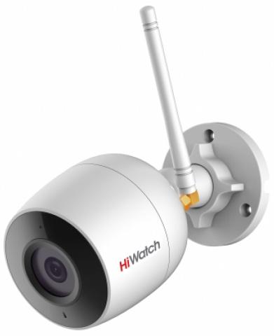 Видеокамера IP Hikvision HiWatch DS-I250W(B) 4-4мм цветная корп.:белый