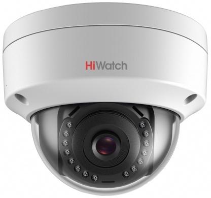 Видеокамера IP Hikvision HiWatch DS-I252 2.8-2.8мм цветная корп.:белый