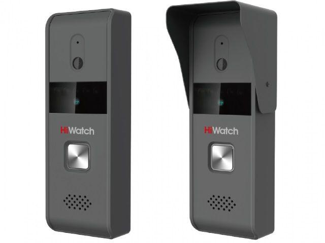 Видеопанель Hikvision DS-D100P монохромный сигнал CMOS цвет панели: темно-серый