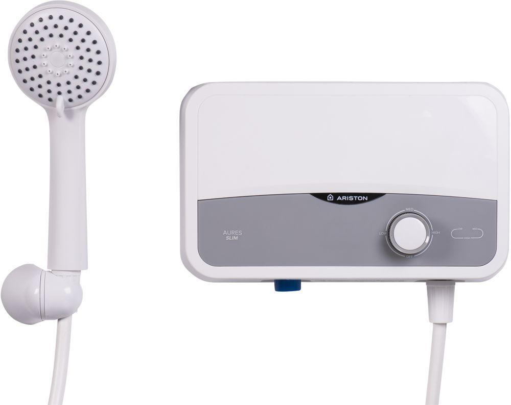Водонагреватель Ariston Aures S 3.5 SH PL 3.5кВт электрический настенный/серебристый