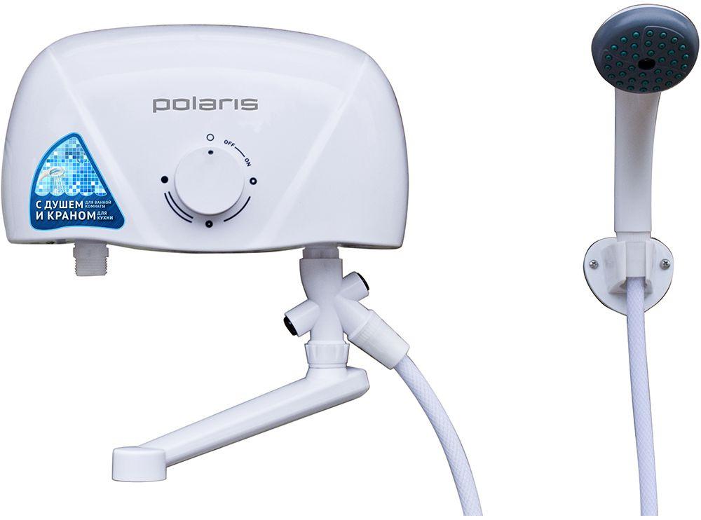 Водонагреватель Polaris ORION SLR 5.5 SТ 5.5кВт электрический настенный/серебристый