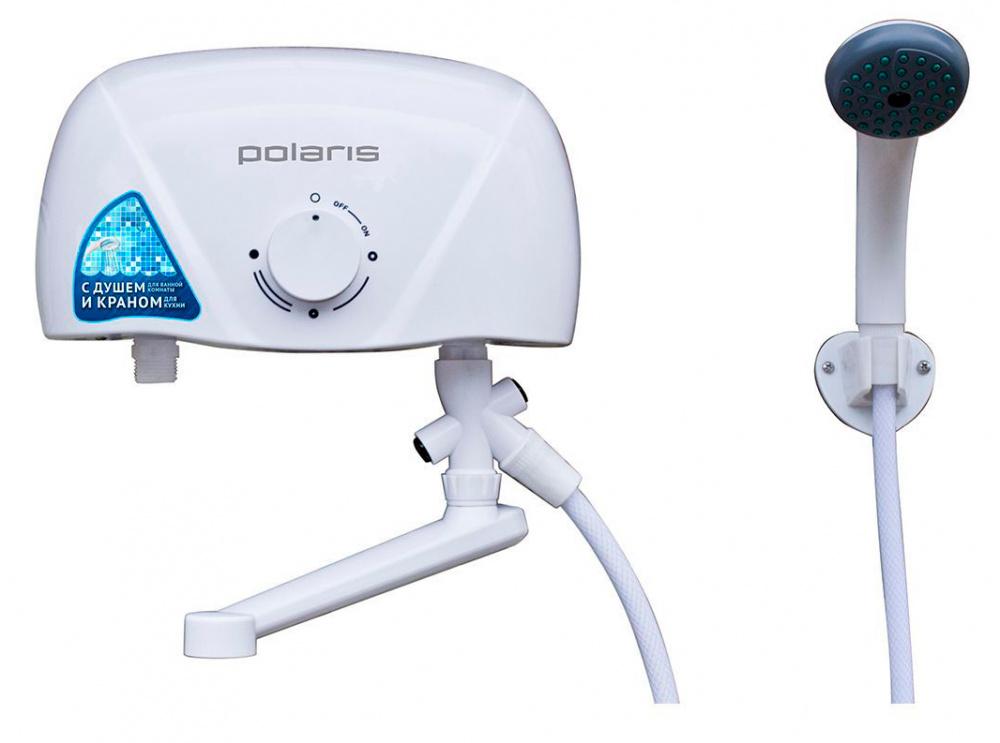 Водонагреватель Polaris Orion 5.5 ST 5.5кВт электрический настенный/белый