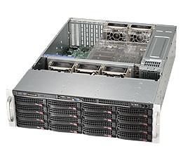 Корпус SuperMicro CSE-836BE1C-R1K03B 3U 2x1000W черный