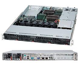 Корпус SuperMicro CSE-815TQC-R706WB 1U 2x750W черный