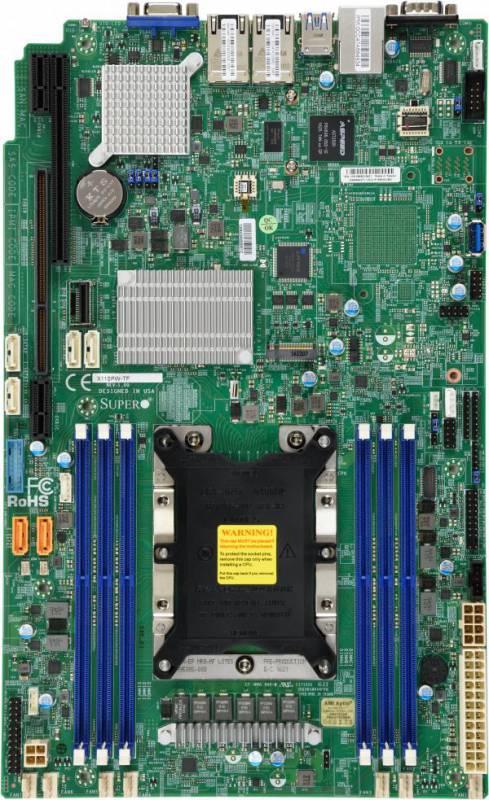 Материнская Плата SuperMicro MBD-X11SPW-TF-O Soc-3647 iC622 6xDDR4 10xSATA3 SATA RAID iX722/X557 2х10GgbEth Ret