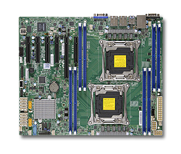 Материнская Плата SuperMicro MBD-X10DRL-i-O Soc-2011 iC612 ATX 8xDDR4 10xSATA3 SATA RAID i210 2хGgbEth Ret
