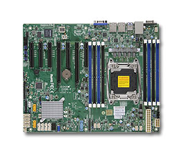 Материнская Плата SuperMicro MBD-X10SRL-F-O Soc-2011 iC612 ATX 8xDDR4 10xSATA3 SATA RAID i210 2хGgbEth Ret