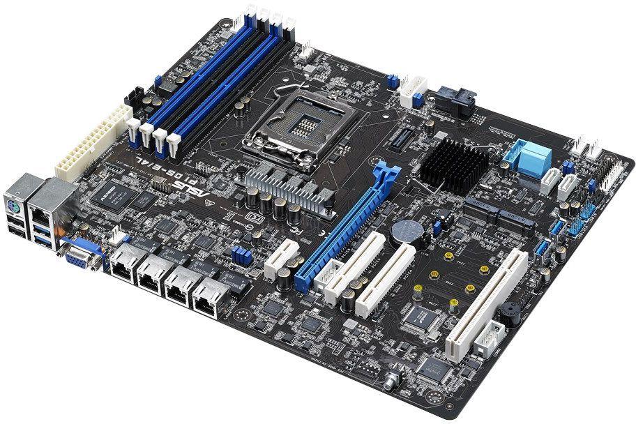 Материнская Плата Asus P10S-E/4L Soc-1151 iC236 ATX 4xDDR4 8xSATA3 SATA RAID i210AT 4xGgbEth Ret