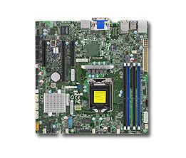 Материнская Плата SuperMicro MBD-X11SSZ-F-O Soc-1151 iC236 mATX 4xDDR4 4xSATA3 SATA RAID i210AT/219LM 2хGgbEth Ret