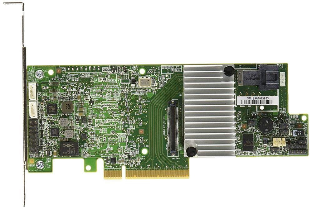 Контроллер Intel Original RS3DC040 RAID 0/1/10/5/50/6/60 LSI3108 1G (RS3DC040 934644)