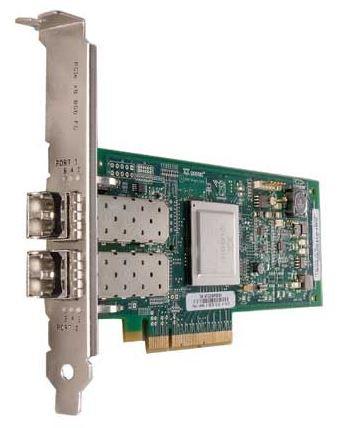 Контроллер Qlogic QLE2562-CK 8Gb 2-port FC HBA x8 PCIe LC multi-mode optic