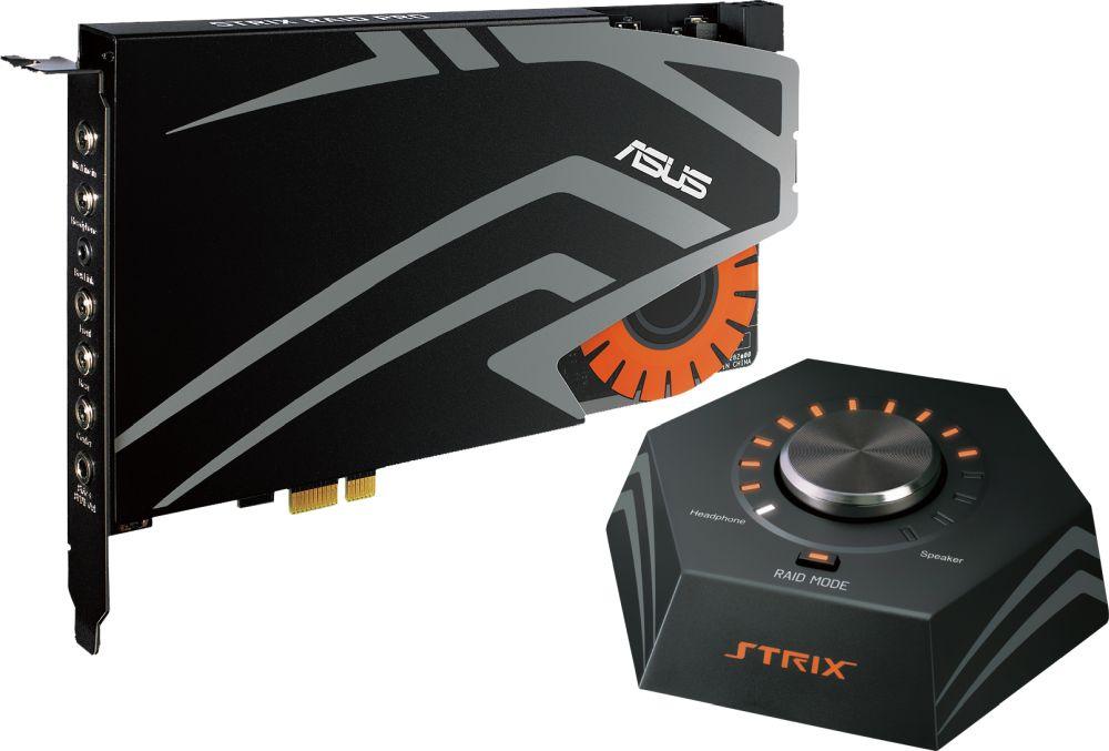 Звуковая карта Asus PCI-E Strix Raid Pro (C-Media 6632AX) 7.1 Ret