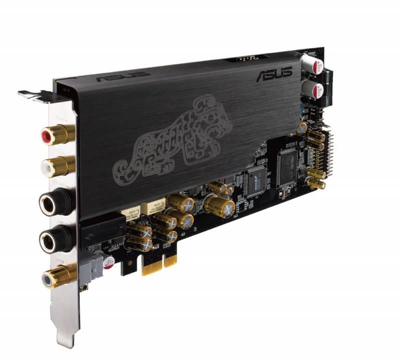 Звуковая карта Asus PCI-E Essence STX II (ASUS AV100, DAC TI Bur-Brown PCM1792A) 2.1 Ret