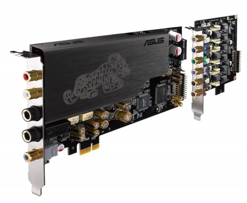 Звуковая карта Asus PCI-E Essence STX II 7.1 (ASUS AV100, DAC TI Bur-Brown PCM1792A) 7.1 Ret