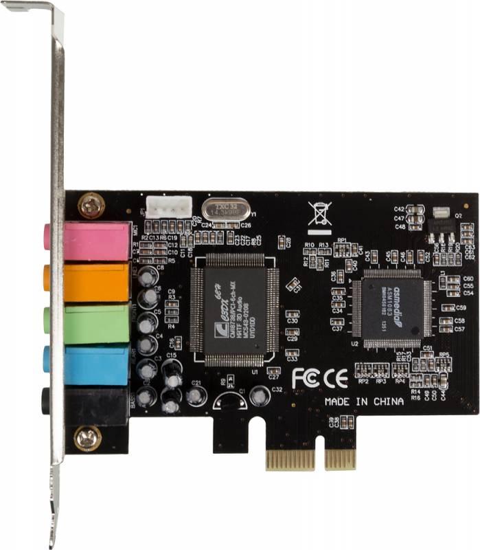Звуковая карта PCI-E 8738 (C-Media CMI8738 (LX/SX) 5.1 bulk