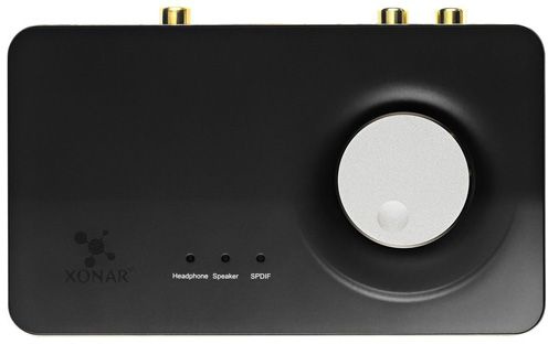 Звуковая карта Asus USB Xonar U7 MK II (C-Media 6632AX) 7.1 Ret (плохая упаковка)