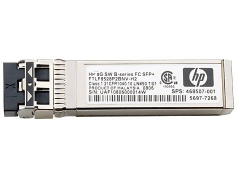 Трансивер HPE 8Gb Short Wave B-Series SFP+ 1pack (AJ716B)