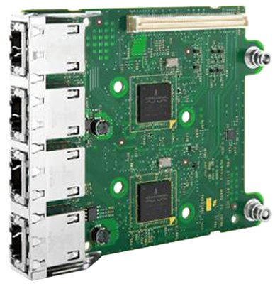 Адаптер Dell Broadcom 5720 QP 1Gb Network Daughter (540-11146) (плохая упаковка)