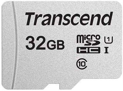 Флеш карта microSDHC 32Gb Class10 Transcend TS32GUSD300S w/o adapter