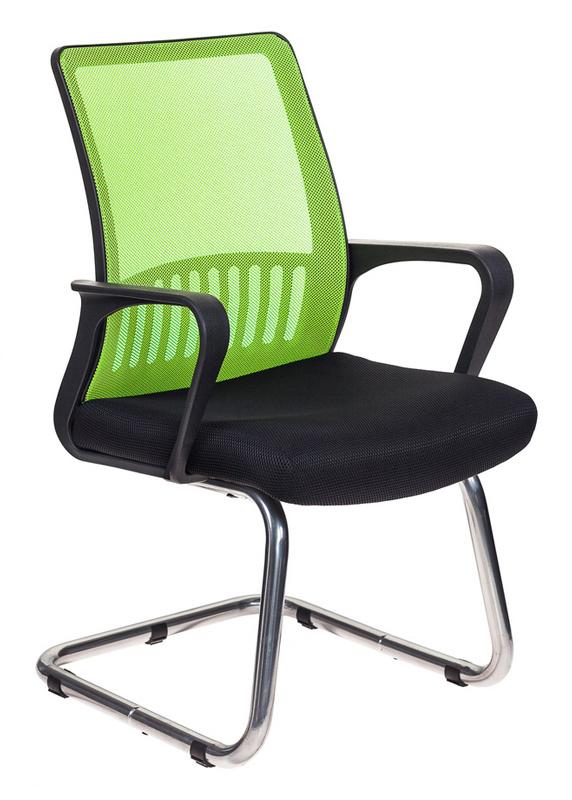 Кресло Бюрократ MC-209/SD/TW-11 спинка сетка салатовый TW-03A сиденье черный TW-11 сетка/ткань