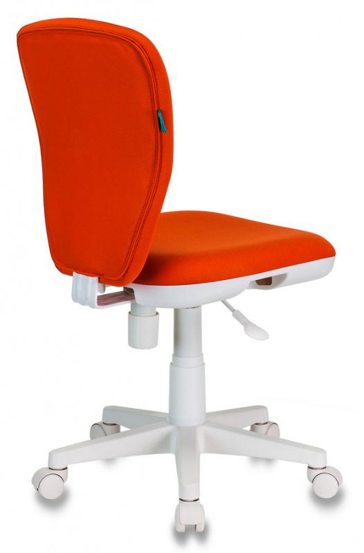 Кресло детское Бюрократ KD-W10/26-29-1 оранжевый 26-29-1 (пластик белый)
