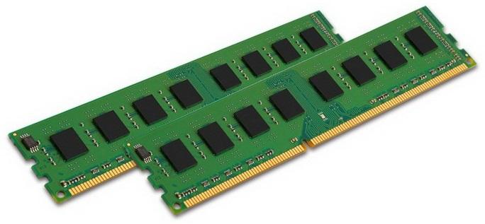 Память DDR3 2x8Gb 1600MHz Kingston KVR16N11K2/16 RTL PC3-12800 CL11 DIMM 240-pin 1.5В Низкопрофильная