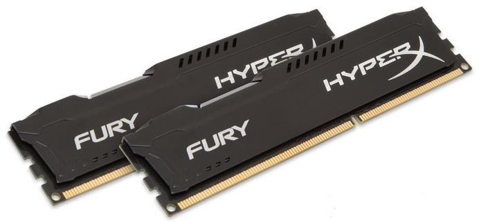Память DDR3 2x8Gb 1600MHz Kingston HX316C10FBK2/16 RTL PC3-12800 CL10 DIMM 240-pin 1.5В