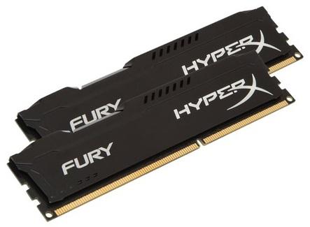 Память DDR3 2x4Gb 1866MHz Kingston HX318C10FBK2/8 RTL PC3-14900 CL10 DIMM 240-pin 1.5В
