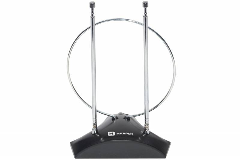 Антенна телевизионная Harper ADVB-2010 пассивная каб.:1.5м (плохая упаковка)
