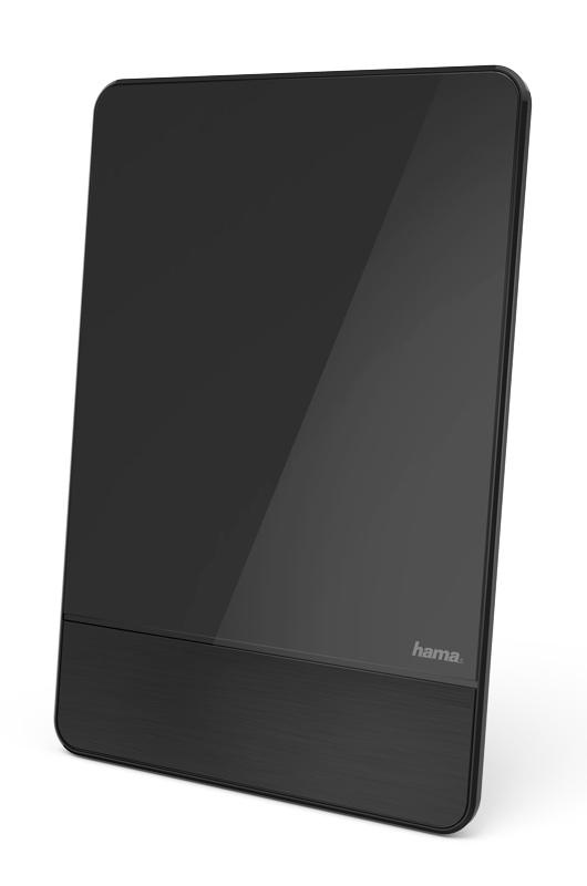 Антенна телевизионная Hama 00121703 активная черный каб.:1.27м (плохая упаковка)