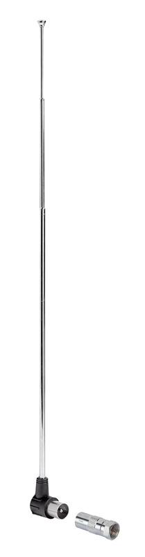 Антенна телевизионная Hama 00121672 пассивная серебристый