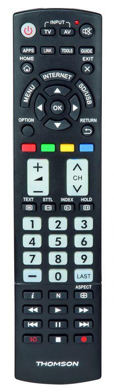 Универсальный пульт Thomson H-132498 Samsung TVs черный (плохая упаковка)