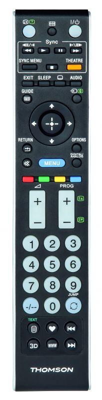Универсальный пульт Thomson H-132500 Sony TVs черный