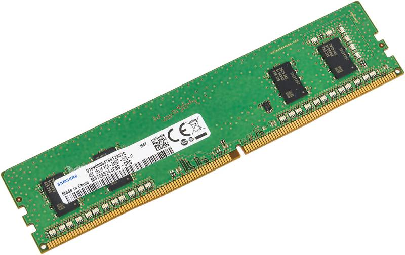 Память DDR4 4Gb 2400MHz Samsung M378A5244CB0-CRC OEM PC4-19200 DIMM 288-pin 1.2В quad rank